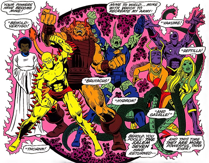 The Salem Seven by George Perez