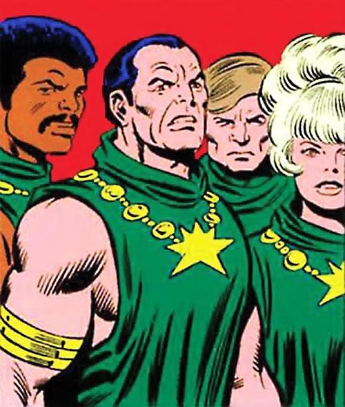 Salem's Seven in human form (Marvel Comics)