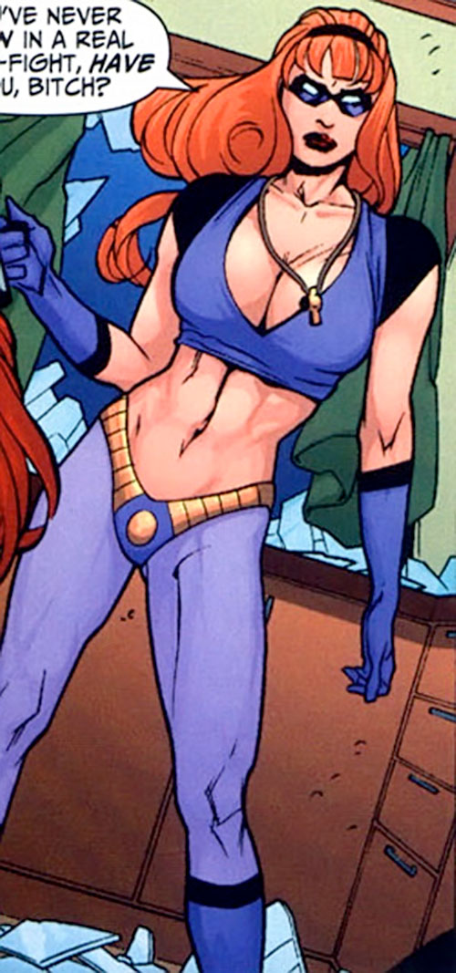Sally Sonic (7 Soldiers) (DC Comics)
