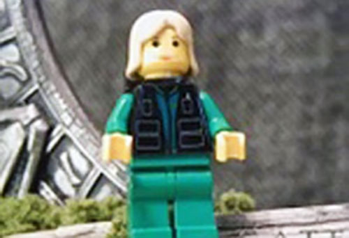 Lego Samantha Carter of Stargate SG-1