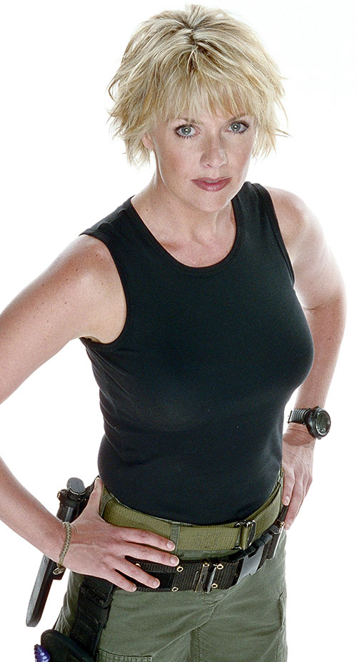 Samantha Carter (Amanda Tapping in Stargate SG-1)
