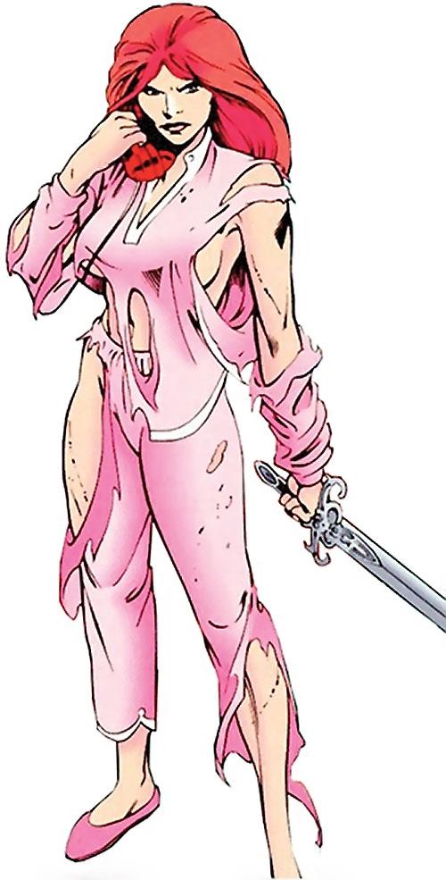 Samantha Destine - Argent - Marvel Comics - Clan Destine ...