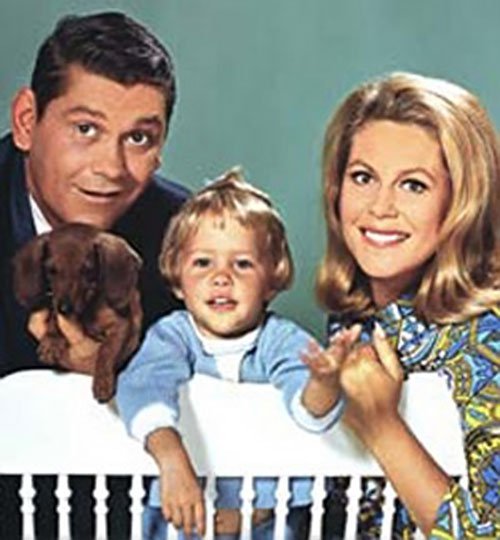 Samantha Stephens (Elizabeth Montgomery in Bewitched) and her family