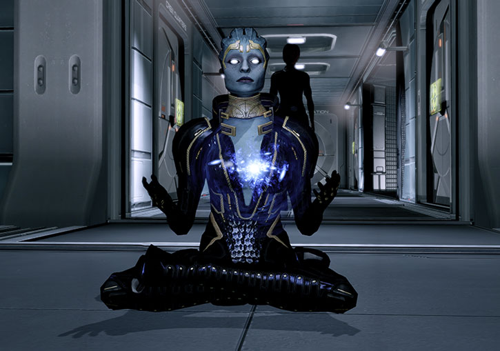 Mass Effect  Liara Build