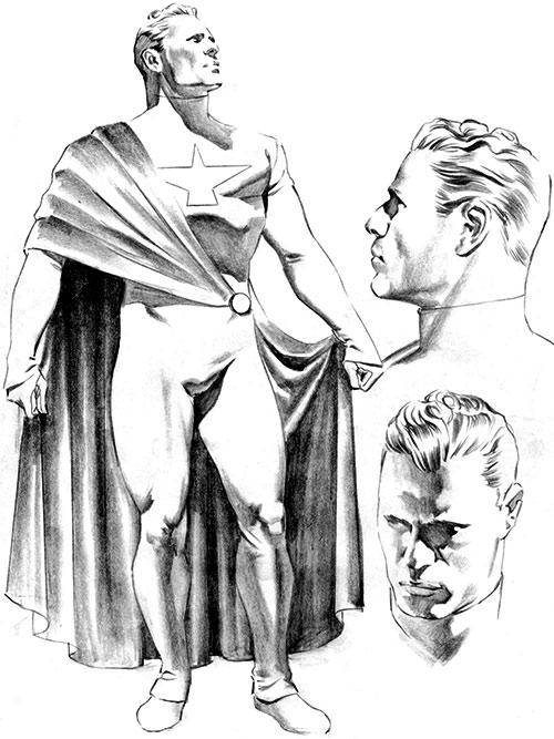 Samaritan (Astro City) design sketch