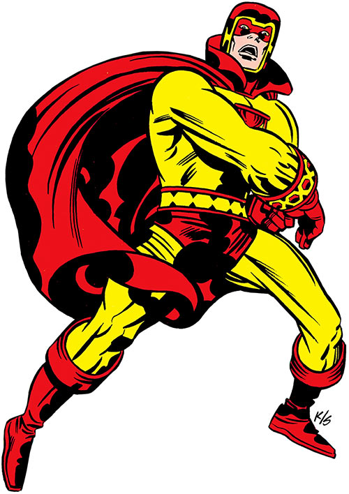 Jack Kirby's Sandman (DC Comics) (Sanford)