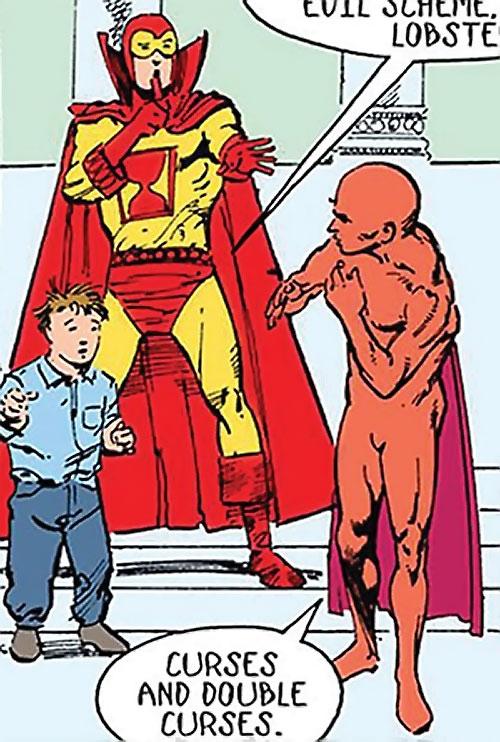 Sandman (DC Comics) (Hector Hall) vs. Doctor Lobster