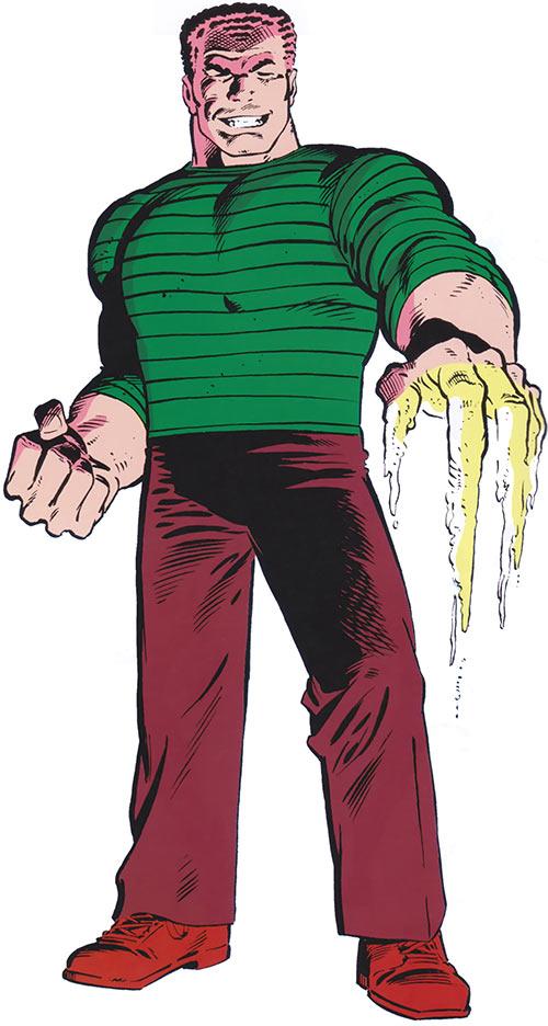 Sandman - Marvel Comics - Spider-Man character - Character ...