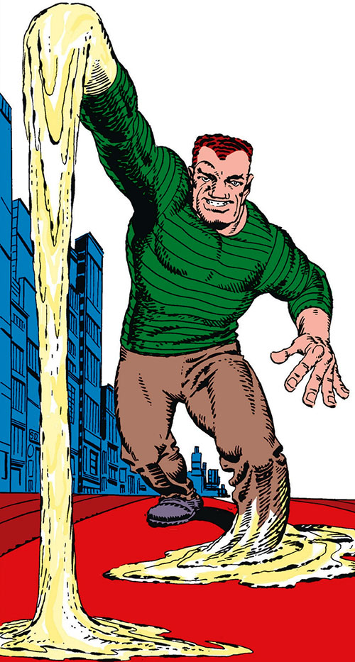 Sandman (Marvel Comics) by Steve Ditko