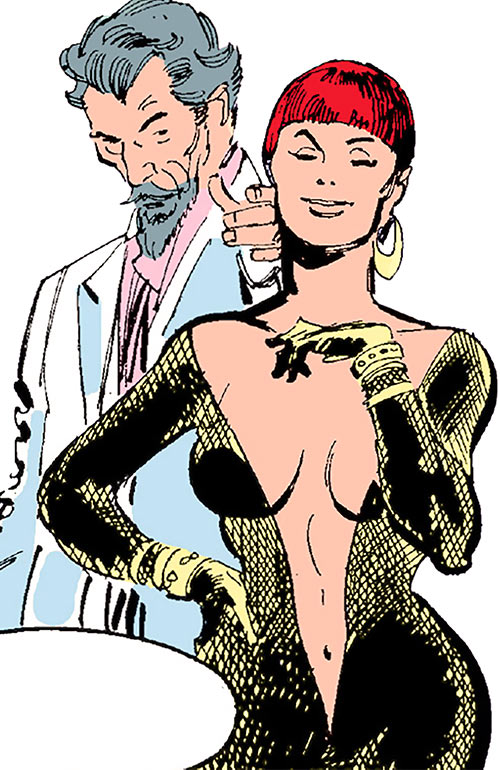 Sapphire Styx (Wolverine enemy) (Marvel Comics) and Roche