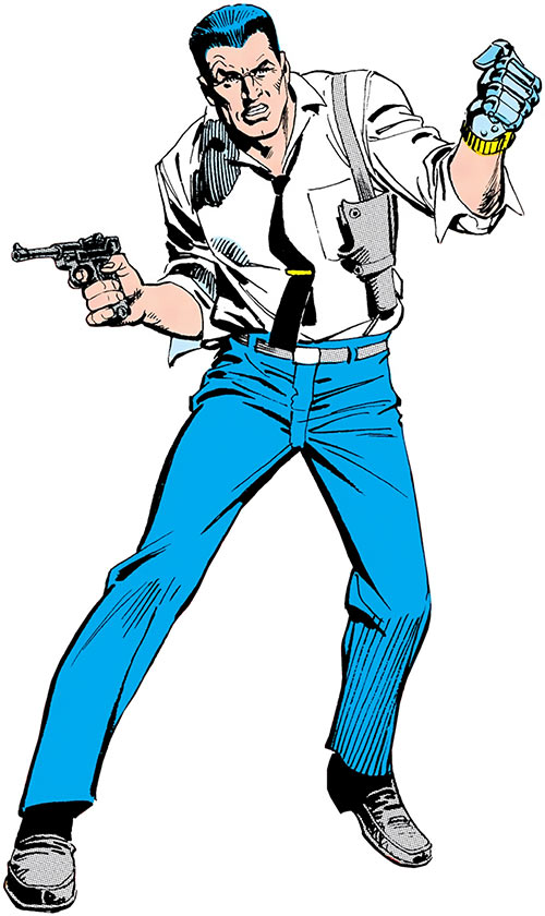 Sarge Steel (Charlton comics)