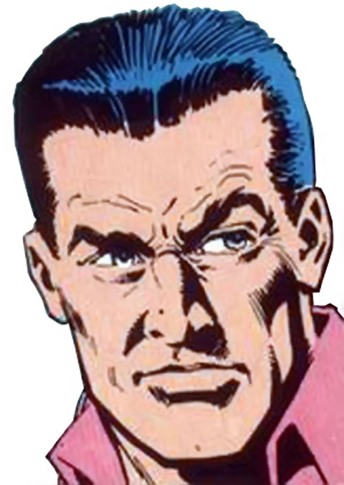 Sarge Steel (Charlton comics) 1990s portrait