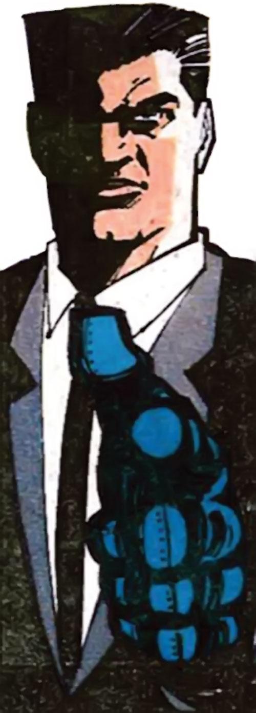 Sarge Steel (DC Comics) heavy ink art