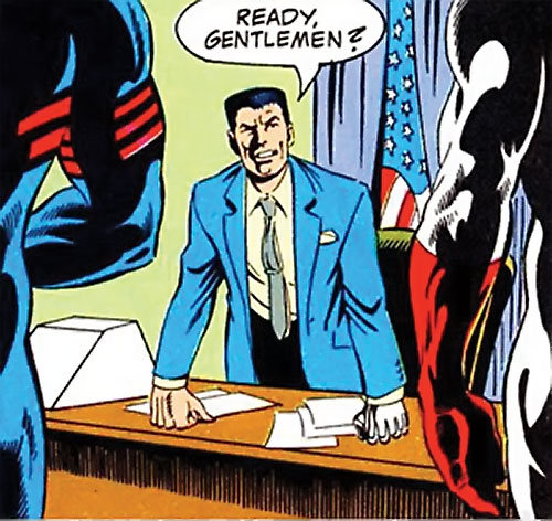 Sarge Steel (DC Comics) briefing super-heroes