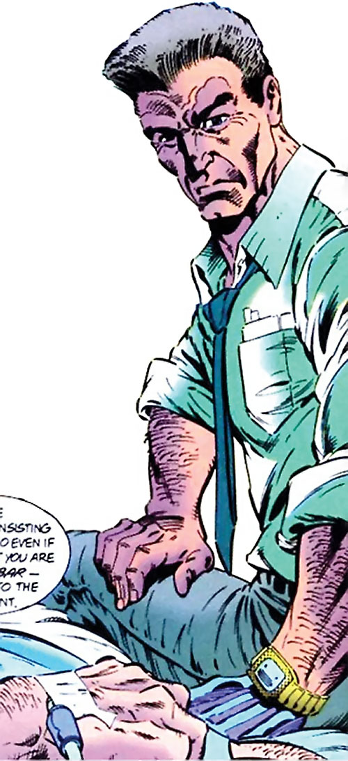 Sarge Steel (DC Comics)