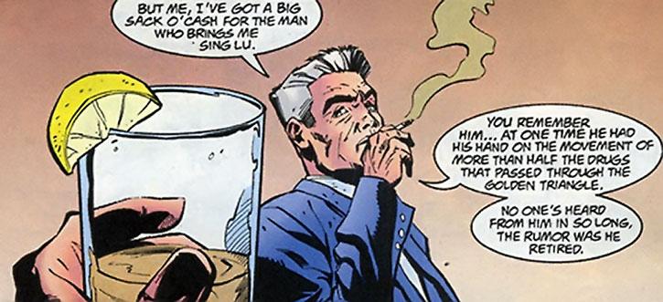 Sarge Steel smoking and talking