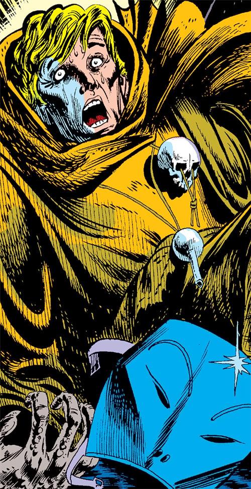 Sarnak (Werewolf by Night enemy) (Marvel Comics) unmasked