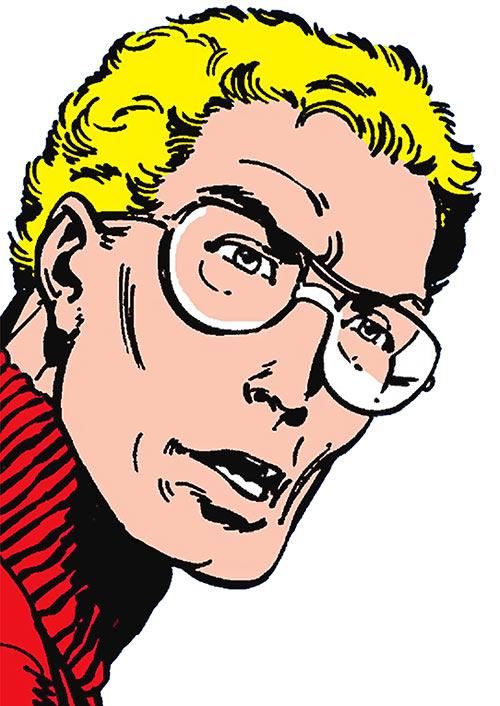 Sasquatch (Marvel Comics) human face closeup