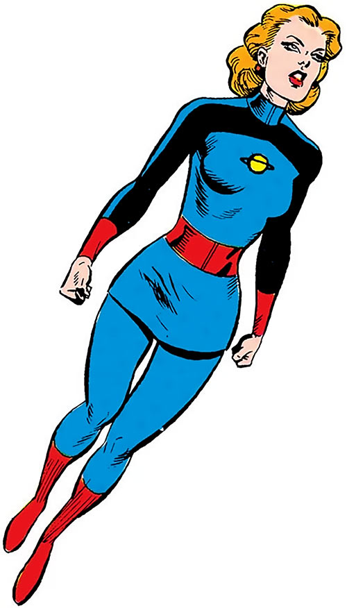 Saturn Queen (DC Comics) (Legion of Super-Heroes) from the Who's Who