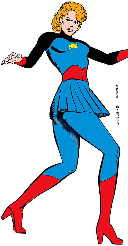 Saturn Queen (Legion of Super-Heroes character) (DC Comics) classic appearance