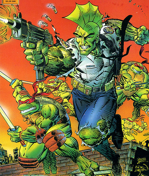 Savage Dragon and the Teenage Mutant Ninja Turtles by Erik Larsen