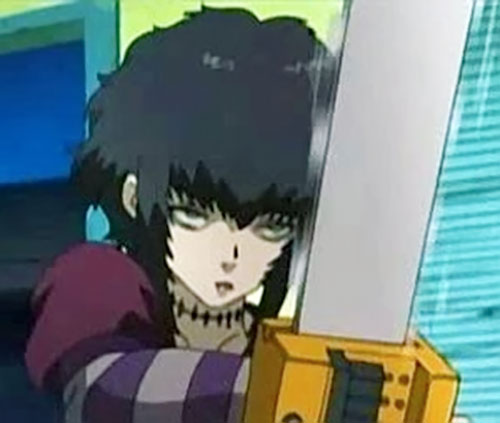 Sawyer the Cleaner (Black Lagoon) with her chainsaw