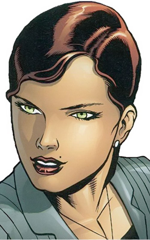 Scandal Savage of the Secret 6 (DC Comics) portrait
