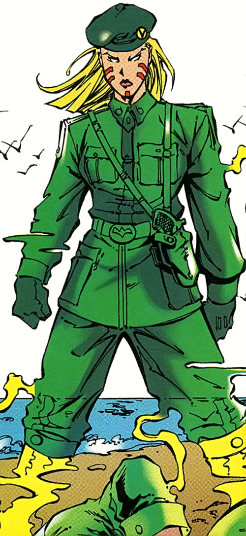Scanner of the Acolytes (X-Men Marvel Comics) in a Genoshan uniform