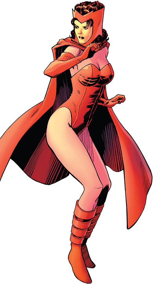 Scarlet Witch (Marvel Comics) (Avengers) 1960 look retro art