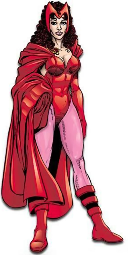Scarlet Witch of the Avengers (Early version) (Marvel Comics) by Perez