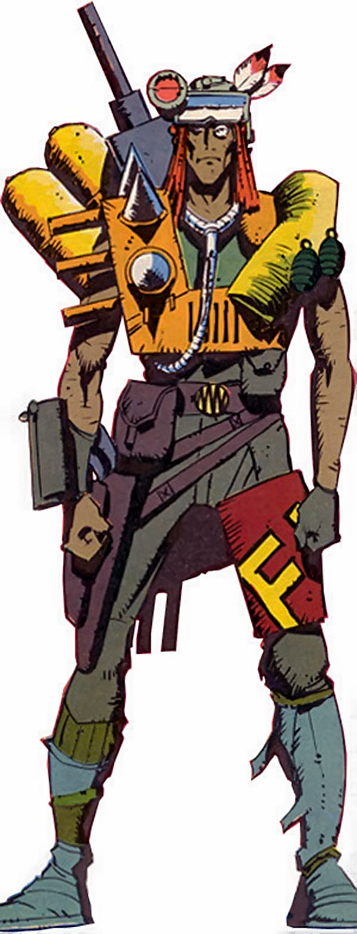Scavenger of Dragon's Claws (Marvel Comics UK)