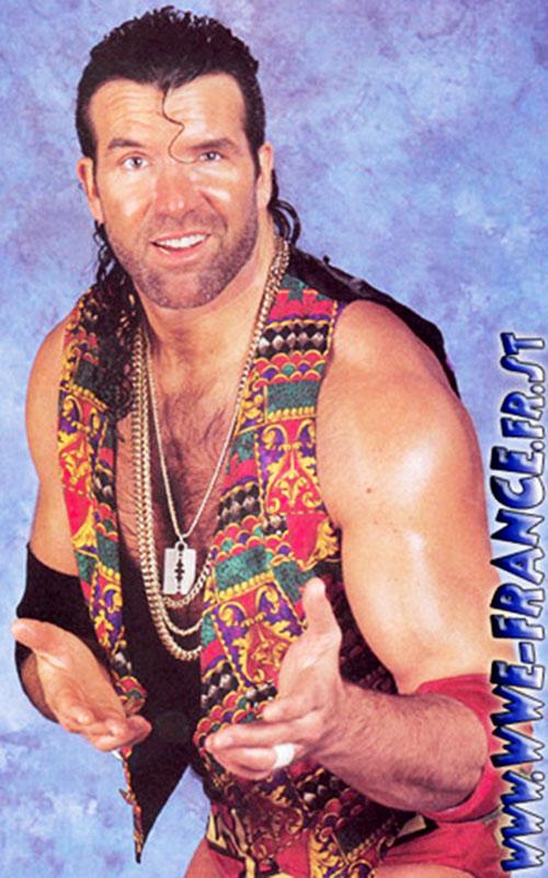 Scott Hall (wrestler) posing as Razor Ramon
