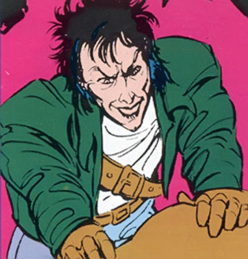 Scrambler of the Marauders (X-Men enemy) (Marvel Comics) smiling