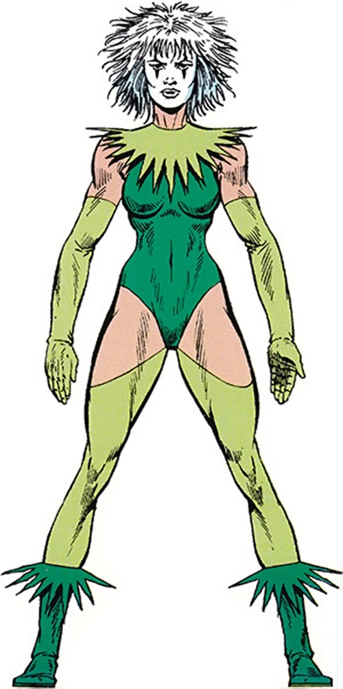 Screaming Mimi (Marvel Comics) (Melissa Gold) from the Master Edition handbook