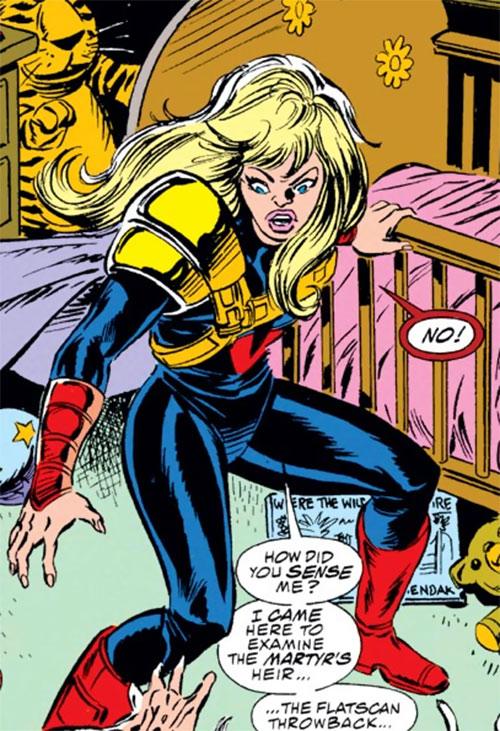 Screener of the Acolytes of Magneto (X-Men / Avengers enemy) (Marvel Comics)