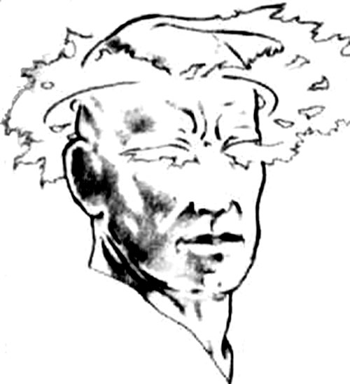 Jeremiah Scripture of Terragen (Aberrant RPG) face closeup