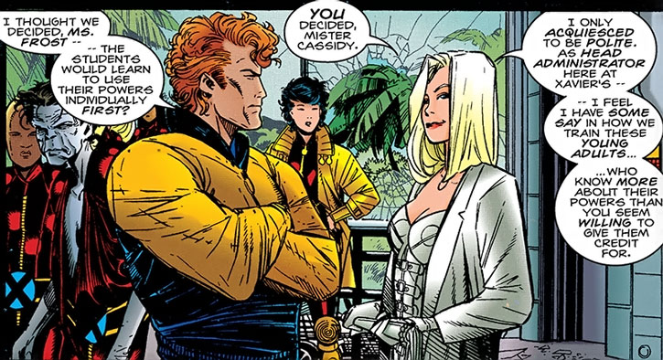 Sean Cassidy, Emma Frost and Generation X