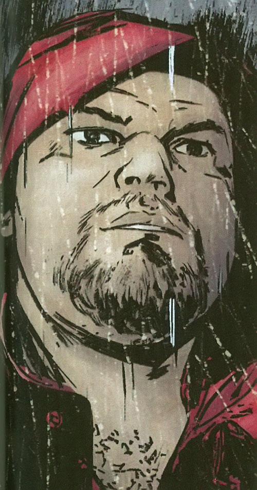 Druid of the Secret Warriors (Marvel Comics) face closeup with hood