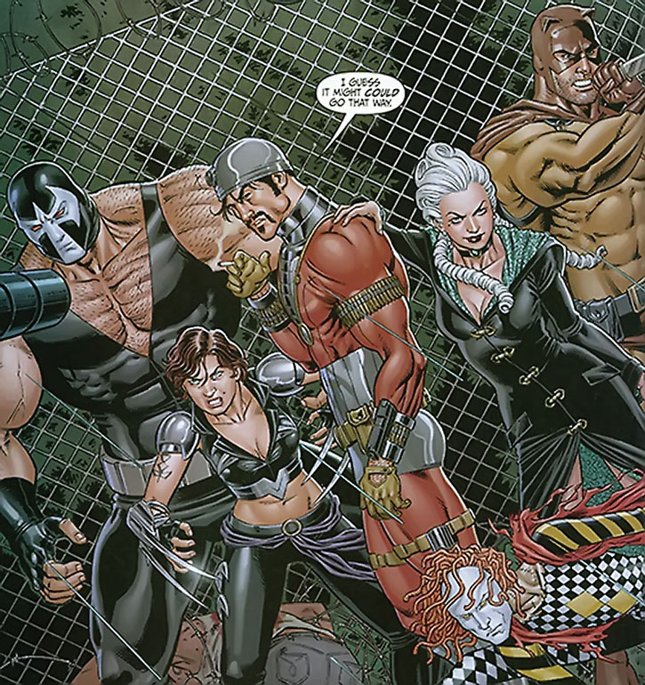 Deadshot and the Secret Six ready for battle