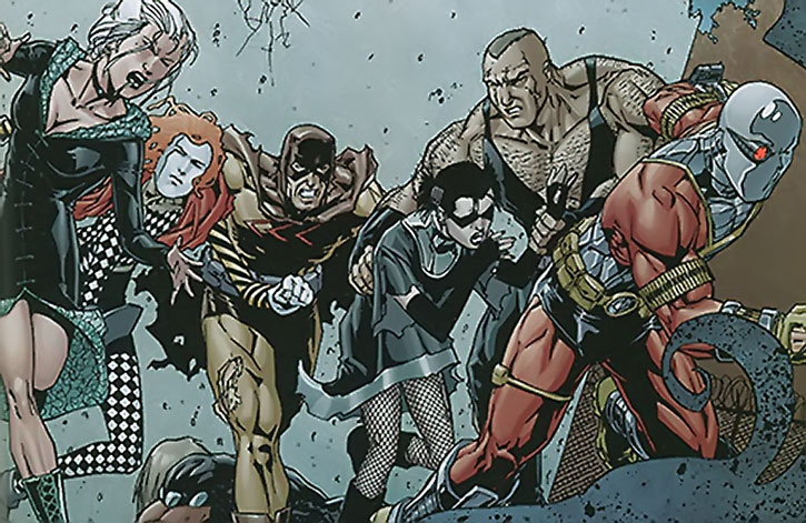 The Secret Six in a sorry shape