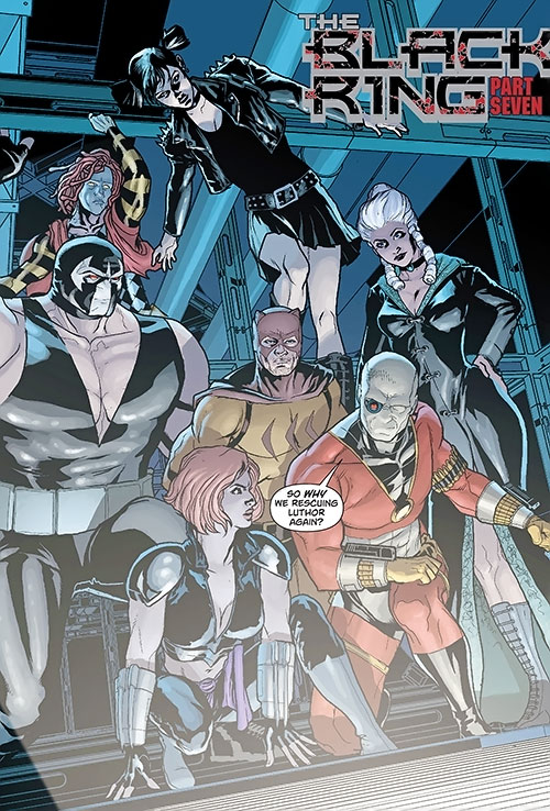Secret 6 (DC Comics) (Gail Simone version) team during the Black Ring arc