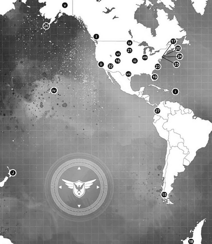 Secret Warriors appendix maps 2