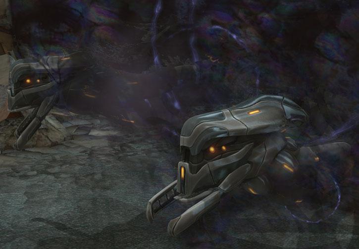 XCom video game - Seekers cloaking