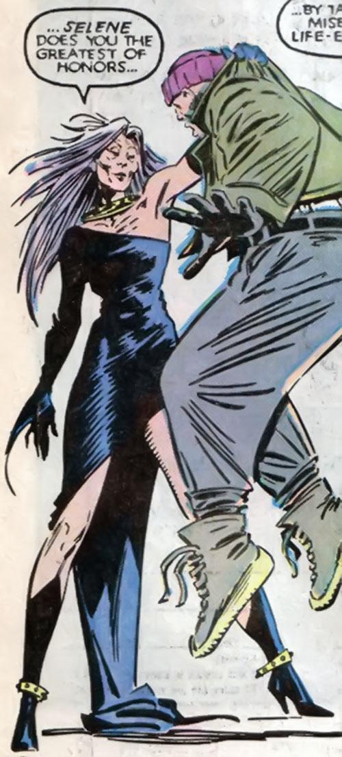 selene - black queen - marvel comics - hellfire club - x-men