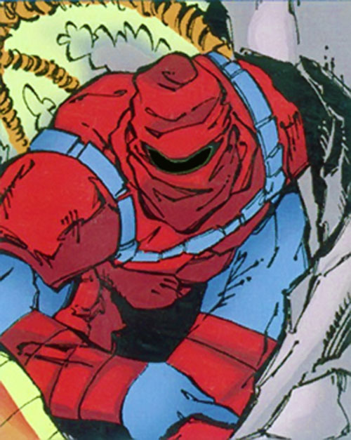 Senyaka of the Acolytes (X-Men enemy) (Marvel Comics)