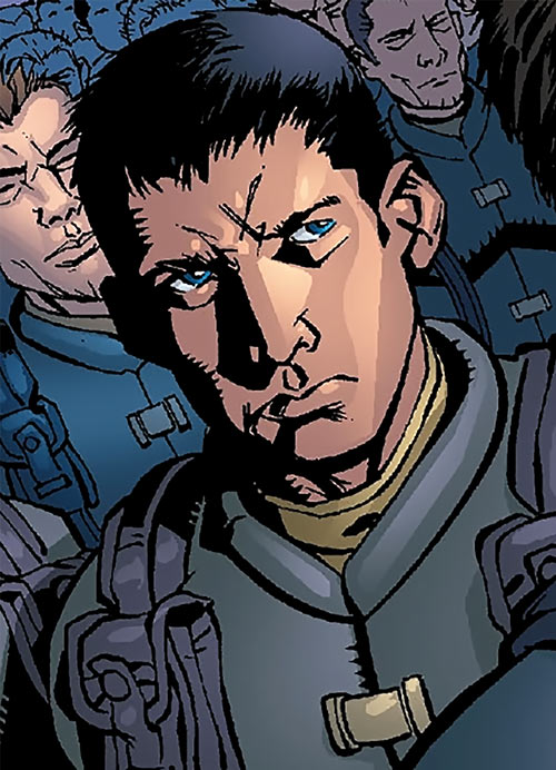 Sergeant Kelly of the Human Defense Corps (DC Comics)