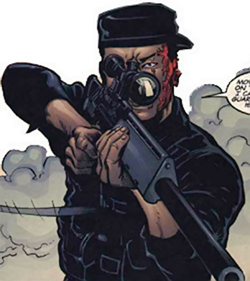 Sergeant Li of SHIELD (Fury MAX) (Marvel Comics)