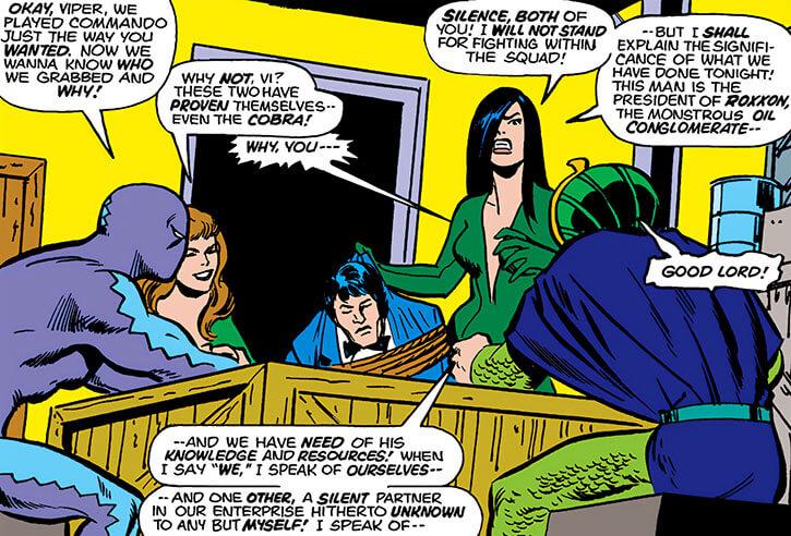 Serpent Squad (Marvel Comics) version 2 Viper