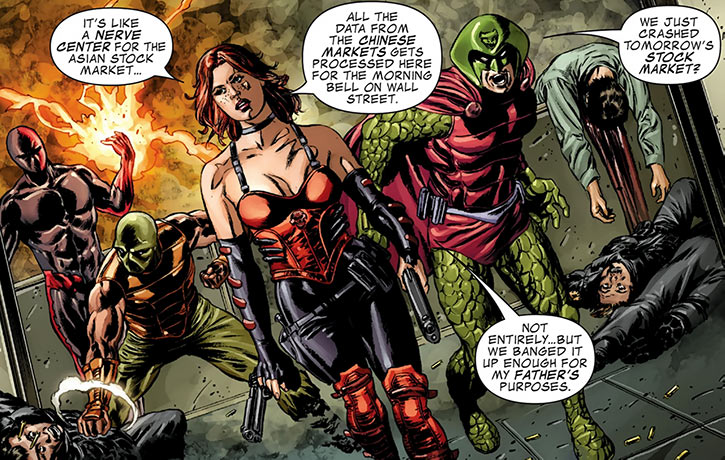 Serpent Squad (Marvel Comics) version 5 Sin