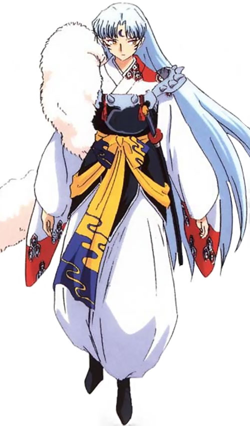 Sesshomaru (InuYasha enemy) color art white background
